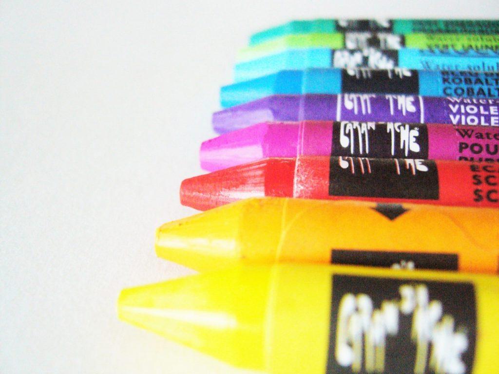 色彩アートセラピー用クレヨン