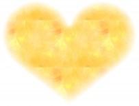 黄色いハート