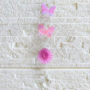 えんぎものサンキャッチャー蝶と菊